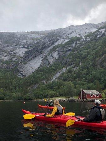 Viking Sky: Kayaking in Eidfjord