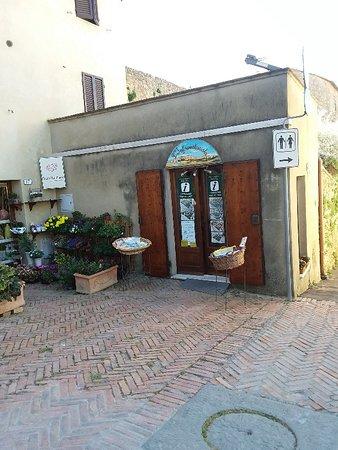 Pienza, Itália: Ufficio informazioni