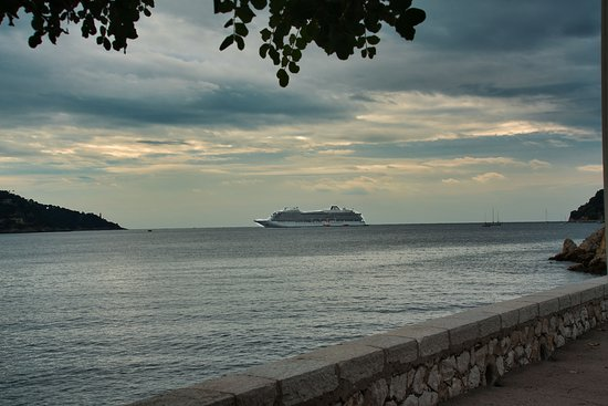 Viking Sky: From the shore of Ville Franche-sur-Mer, France