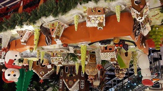 Festive displays on Columbus