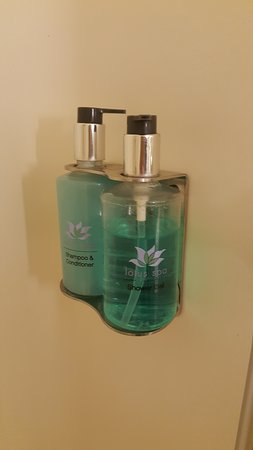 Regal Princess: This is the Shower Gel and Conditioner Shampoo