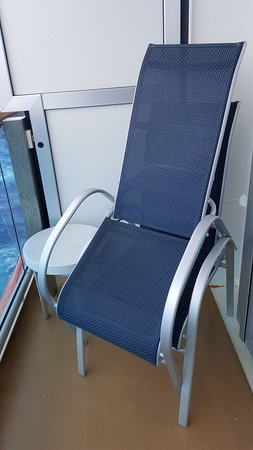 Regal Princess: Balcony Chair