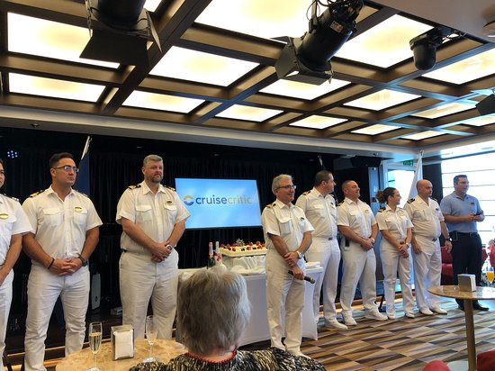 MSC Seaside: Cruise critic meeting