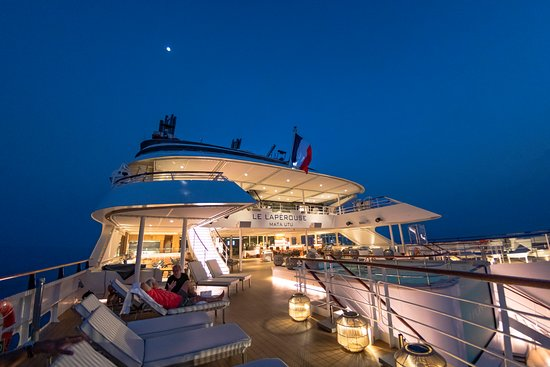 Le Laperouse: There were lots of activities on board, but we also loved just lounging on