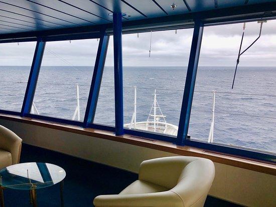 Bridge Tour Empress of the Seas