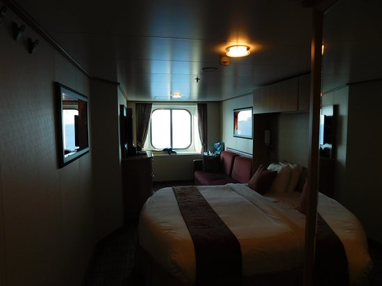 Celebrity Reflection: Our oceanview cabin