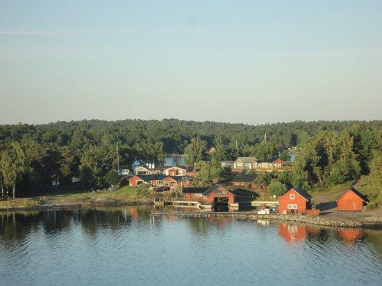 Viking Star: 5am sailing towards Stockholm