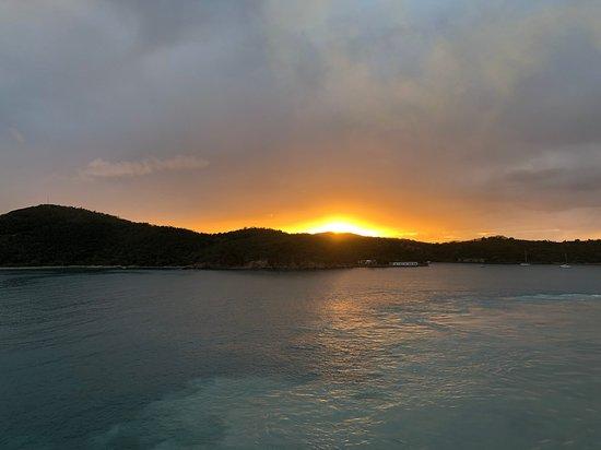Norwegian Bliss: Departing St Thomas