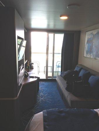 Norwegian Bliss: cabin 13828