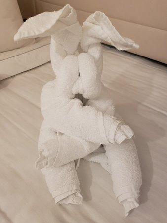Norwegian Bliss: Rabbit Towel Animal