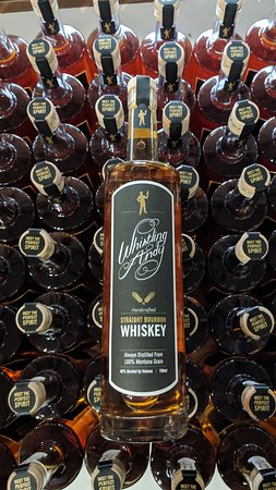 Bourbon on bourbon! Try our Straight Bourbon Whiskey made from Montana grains!