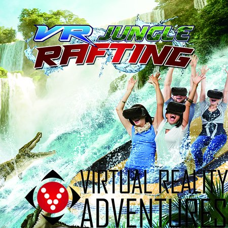 Jurassic River Rafting Jump aboard our 4D river raft and experience white water rafting while traveling through our very own Dino park. Hold on and enjoy your adventure.