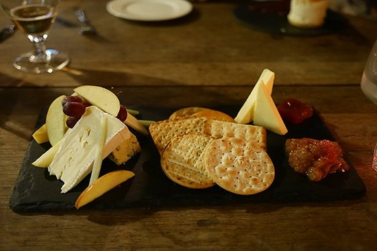 The Fleur De Lis: Cheese Board