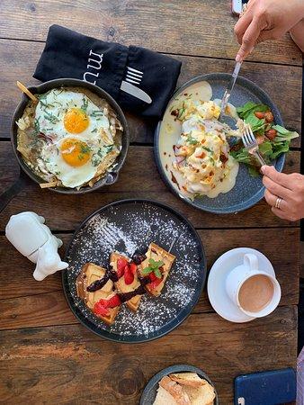 Asombrados con el desayuno!!