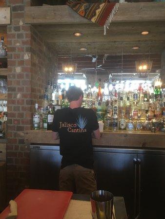 Jalisco Cantina: Bar and Bar staff
