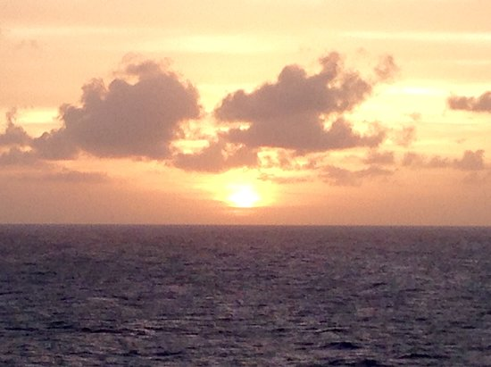 Royal Princess: Caribbean sunrise