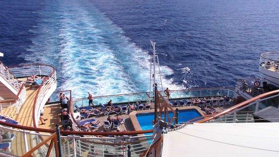 Azura: Beautiful day at sea