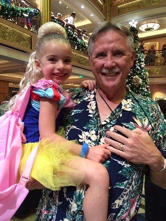 Disney Fantasy: Princess Amalia and Papa Doug