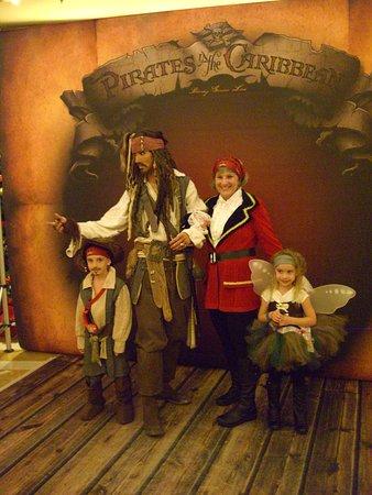 Disney Fantasy: Meeting Jack Sparrow!
