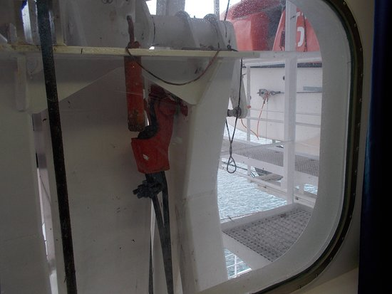 MSC Sinfonia obstructed view cabin 7075 window
