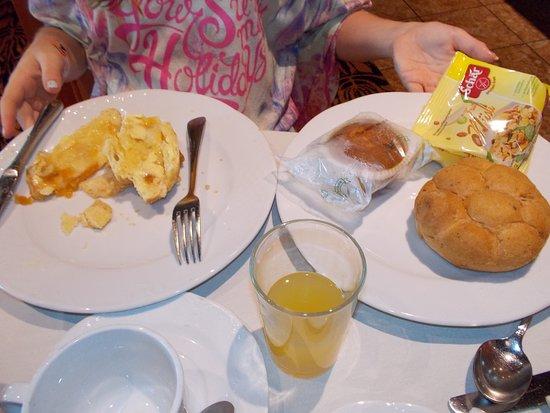 MSC Sinfonia South Africa gluten free breakfast