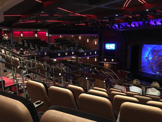 Independence of the Seas: This is the theater