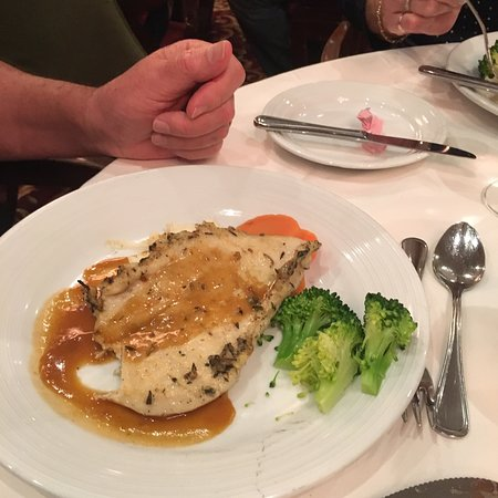 Independence of the Seas: Another yummy dinner.