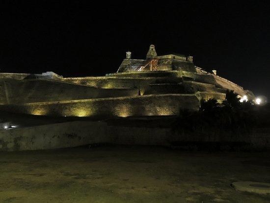 Celebrity Equinox: Cartagena by night.