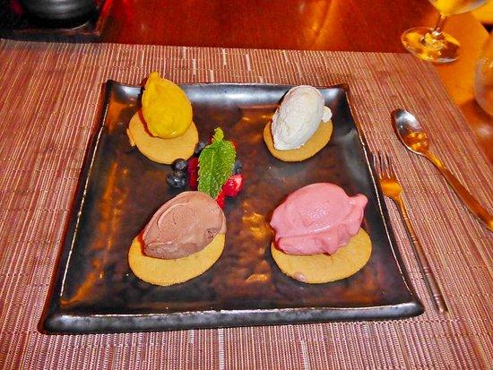 Celebrity Solstice: Silk Harvest dessert