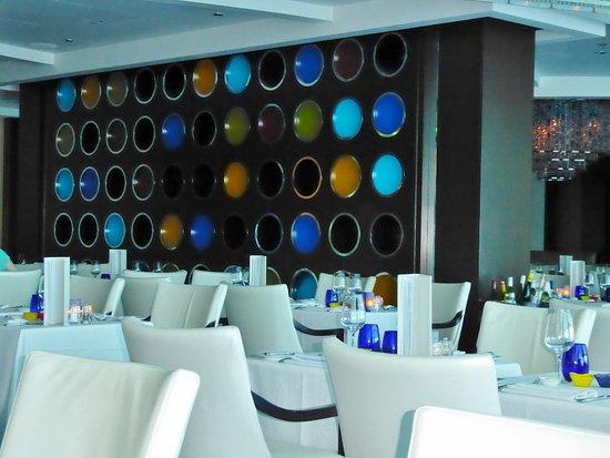 Celebrity Solstice: Blu restaurant
