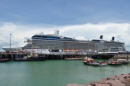 Celebrity Solstice: Solstice ship at port of Darwin