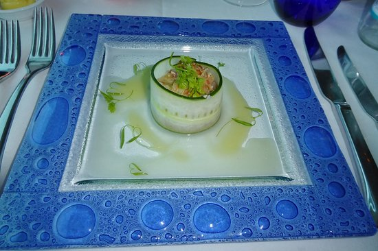 Celebrity Solstice: Blu dining