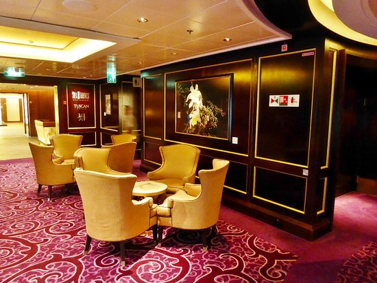 Celebrity Solstice: Lounge area to specialty resaurants