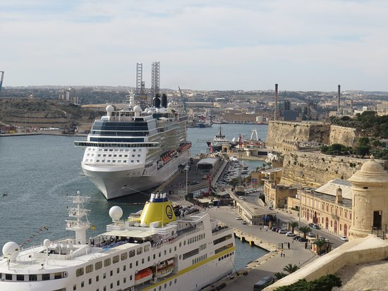 Celebrity Equinox: Ship docked in Malta
