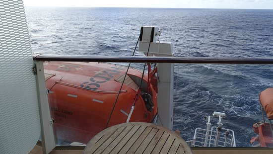 Celebrity Equinox: Partial obstructed view cabin 6243