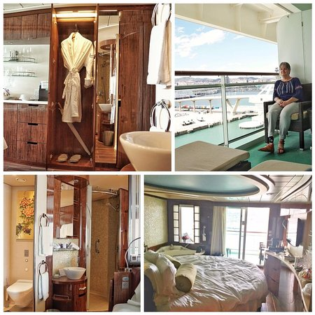 Norwegian Epic: A picture of our Have Spa Suite.