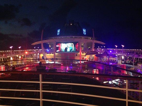 Liberty of the Seas: Movie