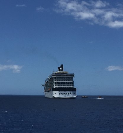 Celebrity Solstice: We were on a Tander when i took this shot