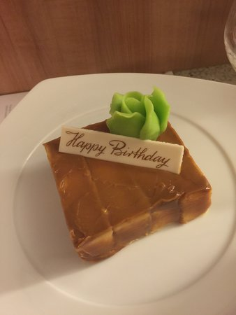 Celebrity Solstice: my birthday cake
