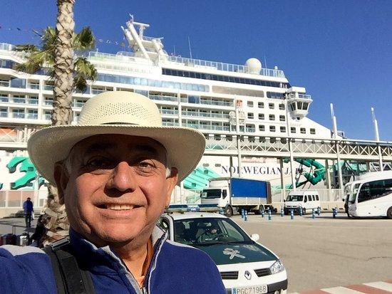 Norwegian Jade: Barcelona Port disembarkation