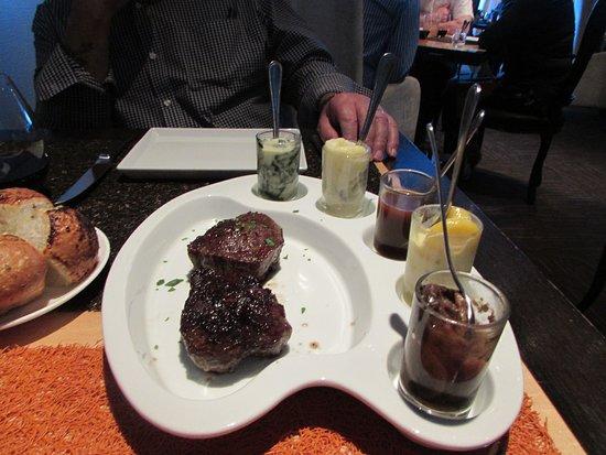 Celebrity Eclipse: Qsine fillet steaks