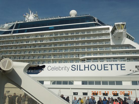 The floating city, Celebrity Silhouette