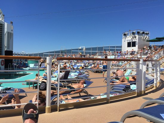 Norwegian Epic: Day at sea