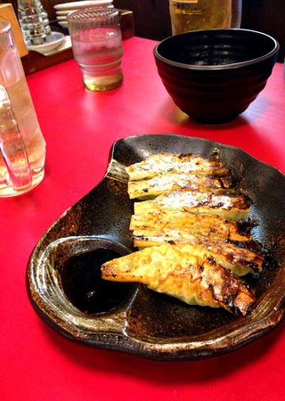 Menya Katsumi: 野菜餃子