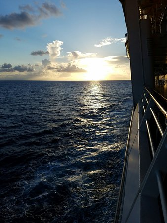 Sunrise on Liberty of the Seas