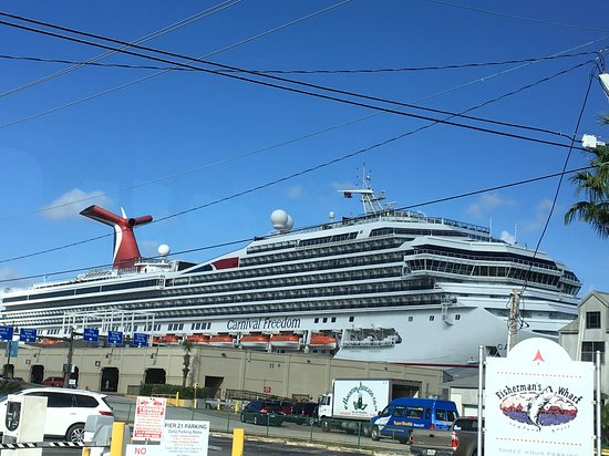 Carnival Freedom: Embarkation day in Galveston
