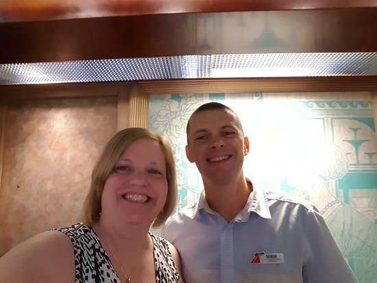 Carnival Freedom: Best Steward EVER! Thank you Sergii for making our cruise so comfortable! You