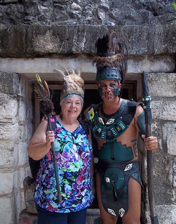 Carnival Freedom: Photo op in Cozumel during the 10 Best of Cozumel excursion