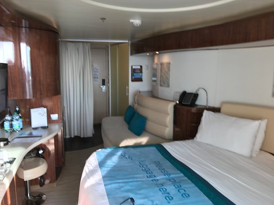 Norwegian Epic: Picture of the room size