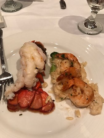 Carnival Dream: Good food the 1st day and then downhill from there. Everything was bland and the same texture. HUGE LINES for the food ALL THE TIME. Lobster 1 night. Pretty chewy.